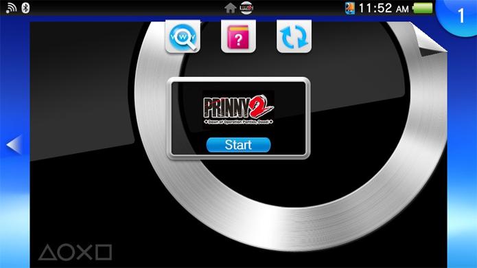Jogos do PSP podem receber filtro gráfico e muitas vezes usar o analógico direito como mira (Foto: Reprodução)