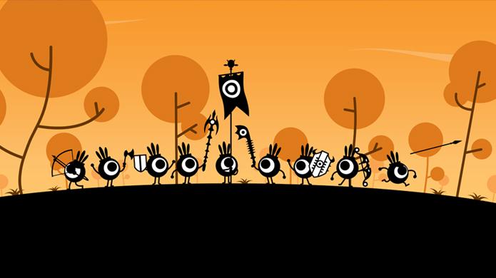 Jogos como Patapon ficam ainda mais vibrantes no PS Vita (Foto: Divulgação)