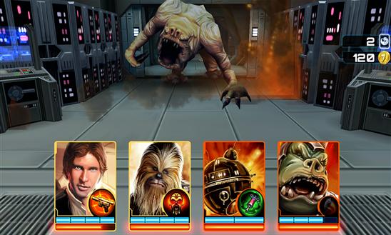 Star Wars: Assault Team traz os famosos personagens para um jogo de batalhas em cartas para Windows Phone (Foto: Divulgação/Windows Phone Store)