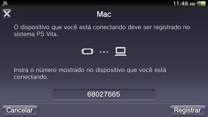 Vita: como gerenciar o conteúdo do portátil pelo Mac (Foto: Reprodução/Murilo Molina)