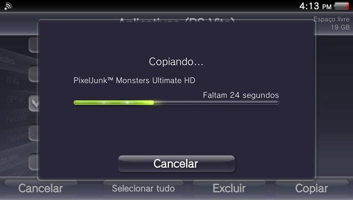 2014-05-25-161310Vita: como armazenar os games do portátil no PS3 (Foto: Reprodução/Murilo Molina)