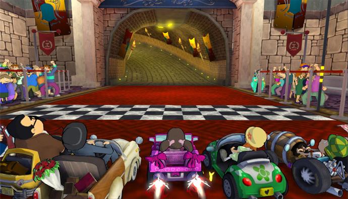 Chaves Kart traz 40 desafios extremamente difíceis para completar (Foto: Divulgação)