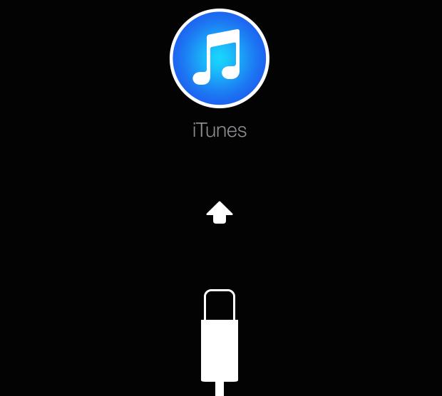 Tela do modo de recuperação do iOS (Foto: Reprodução/Edivaldo)