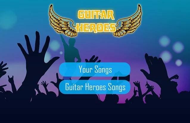 Guitar Heroes: Cinco botões e músicas personalizadas (Foto: Divulgação)