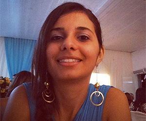 A estudante de Direito Emanuelle Garcia tem se divertido com o VK (Foto: Arquivo pessoal)