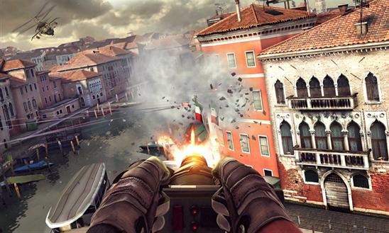 Modern Combat é um sucesso da Gameloft lançado para Windows Phone (Foto: Divulgação/Windows Phone Store)