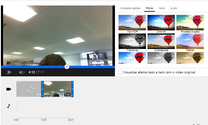 É possível editar transmissões com menos de 2 horas de duração no próprio editor de vídeos do YouTube (Foto: Reprodução/Paulo Finotti)
