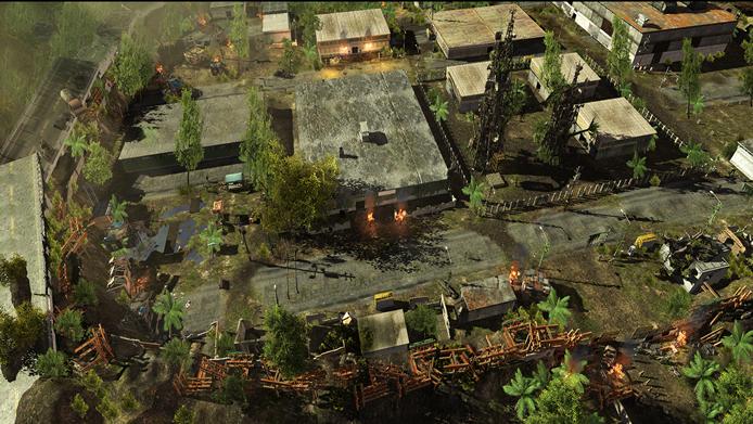 Os gráficos do game apresentam ambientes tridimensionais com as impressionantes ruínas de um mundo pós-apocalíptico (Foto: Divulgação/inXile Entertainment)