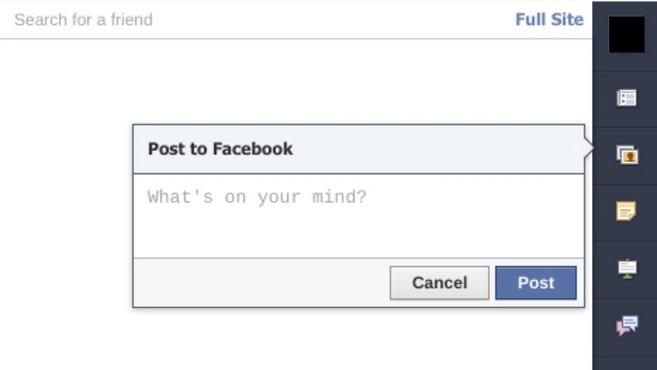 Facebook For Chrome (Foto: Reprodução/Mashable)