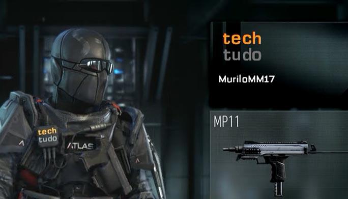 Call of Duty: Advanced Warfare: como criar emblemas customizados para o seu personagem (Foto: Reprodução/Murilo Molina)