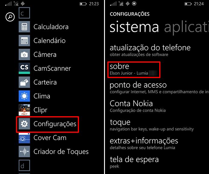 Lumia 625 pode ser restaurado a partir das configurações do aparelho (Foto: Reprodução/Elson de Souza)