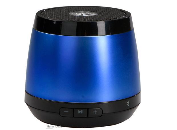 Caixas de som Jam tem alcance de até 30 metros via Bluetooth e funciona por até 4 horas (Foto: Divulgação/HMDX)