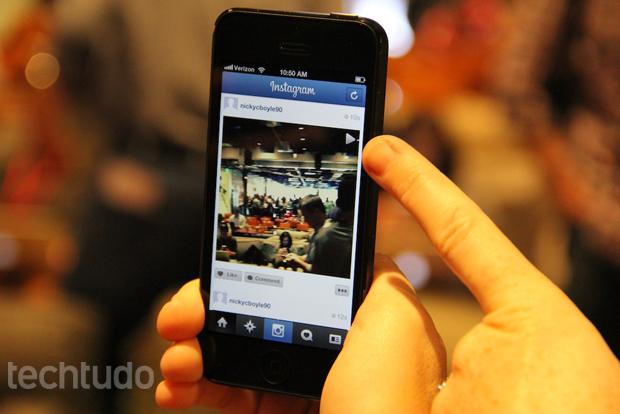 Instagram introduz repetição automática de vídeos (Foto: TechTudo/Fabrício Vitorino)