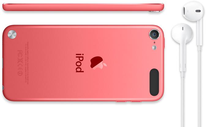 iPod Touch tem ainda duas câmeras e versões coloridas (Foto: Divulgação/Apple)