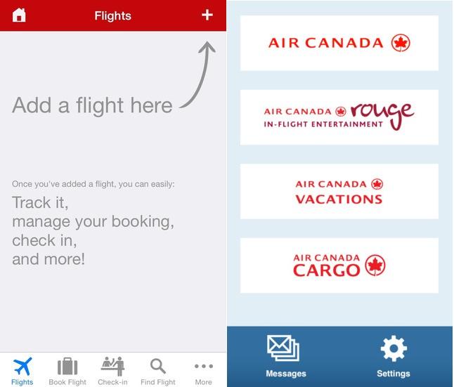 App Air canada