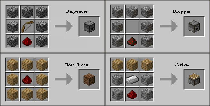 É possível usar Redstone para programar funções complexas se necessário (Foto: Reprodução/Rafael Monteiro)