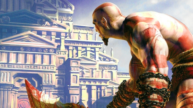 Livro de God of War narra a história de Kratos (Foto: Divulgação)
