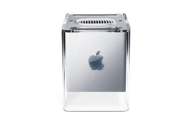 O design elegante do G4 Cube escondia um computador frágil e pouco potente (Divulgação)
