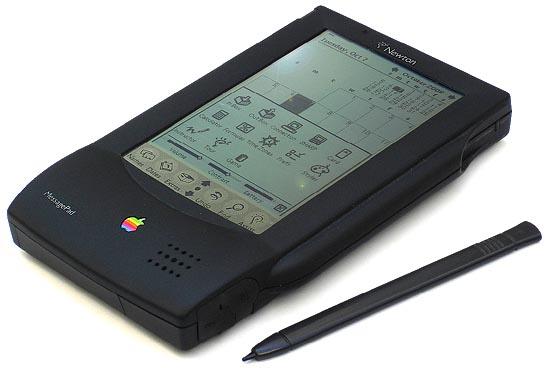 Newton foi o assistente pessoal da Apple que fracassou (Divulgação)