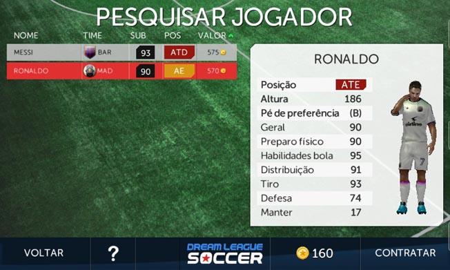 5d15da66a0a Dream League Soccer  confira os melhores craques para contratar no ...
