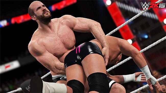 Cesaro pronto para vencer em novo jogo da WWE (Foto: Divulgação)
