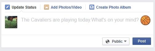 Facebook faz sugestão de publicação para usuário da rede social (Foto: Reprodução/ SocialTimes)