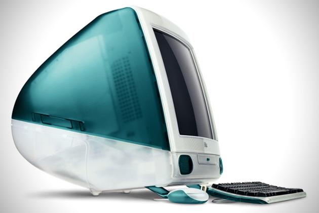 Apple criou um computador branco para inovar no design (Foto: Divulgação)