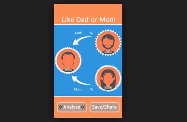 Like Who? Dad or Mom é um aplicativo superdivertido para brincar em família (Foto: Divulgação/ Like Who? Dar Or Mom)
