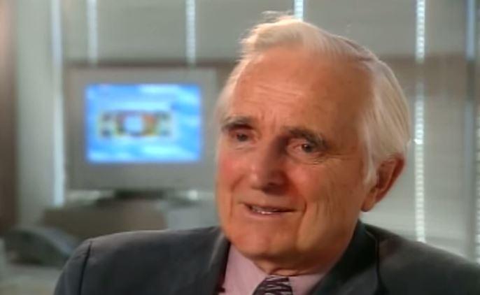 Douglas Engelbart: o criador do mouse (Foto: Reprodução/YouTube)