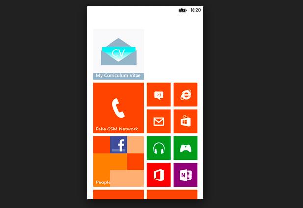Aplicativo My Curriculum Vitae é grátis e está disponível para usuários do Windows Phone (Foto: Divulgação/ My Curriculum Vitae)