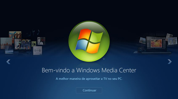 O Windows Media Center deixou de ser suportado no Windows 10 (Foto: Divulgação/Microsoft)