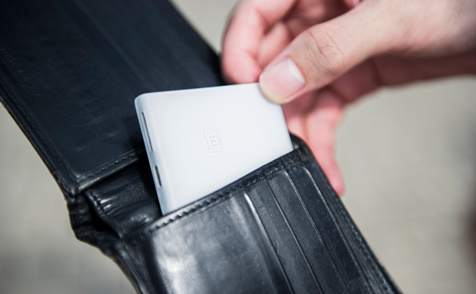 Piece cabe na carteira e funciona como gadget anti-roubo (Foto: Divulgação)