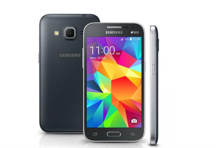 Samsung Galaxy Win Duos Core traz TV Digital como chamariz. Foto: Reprodução