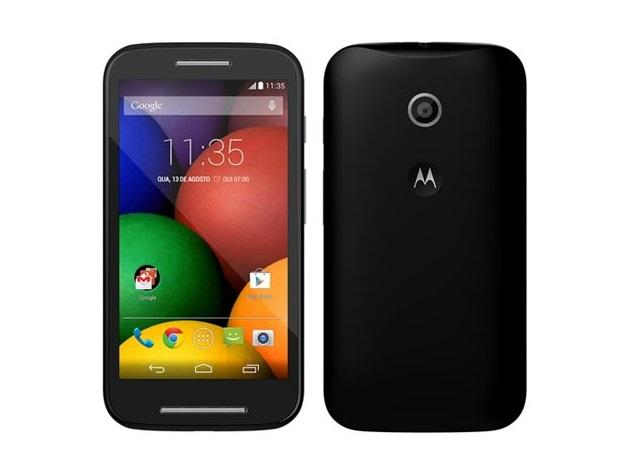 Moto E da Motorola traz tecnologia 4G, mesmo sendo um smartphone considero de entrada. Foto: Divulgação