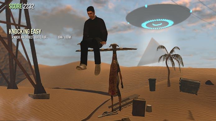 Encontre múmias, tumbas e aliens em Abu Goat (Foto: Divulgação/Steam)