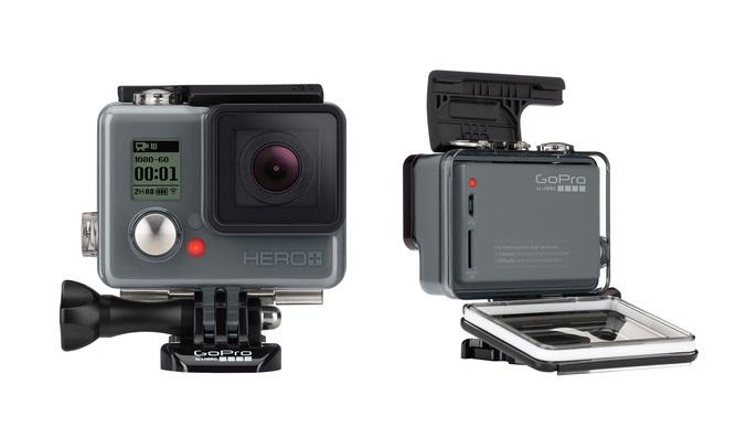GoPro lança a câmera Hero+ com conectividade wi-fi e capacidade para filmar em Full HD. Foto: Divulgação