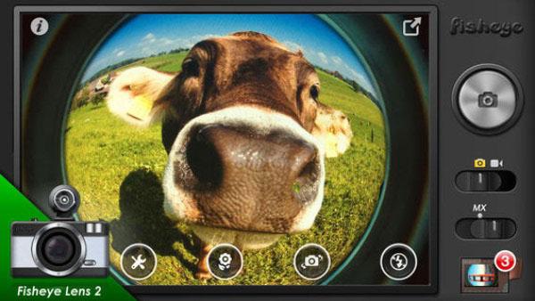 Use o efeito fisheye com um app (Foto: Reprodução/Google Play)
