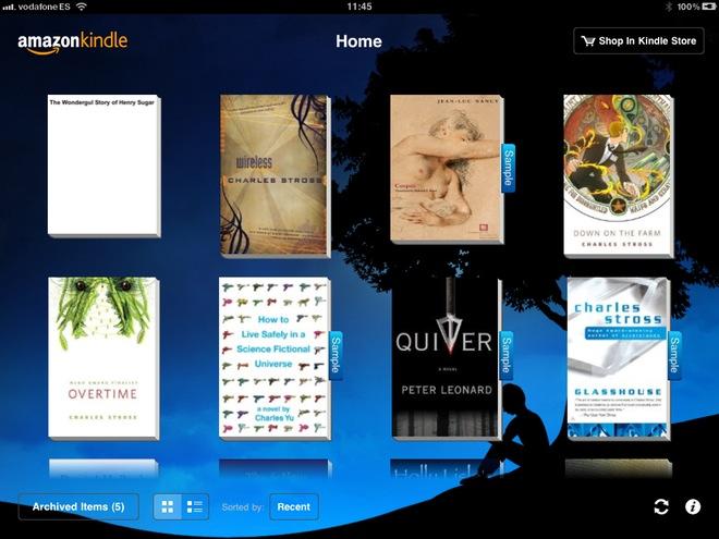 App do Kindle é uma excelente opção de e-reader (Foto: Divulgação/ Kindle)