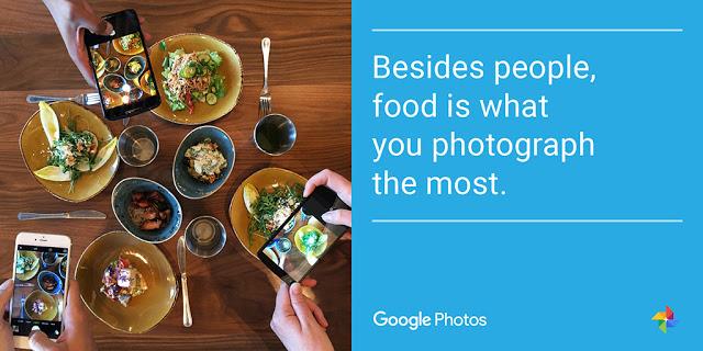 Fotos de comida são bastante fotogradas (Foto: Divulgação/Google)