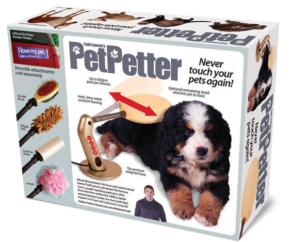 Produto para preguiçosos promete fazer carinho no seu pet automaticamente (Foto: Divulgação/ PetPetter)