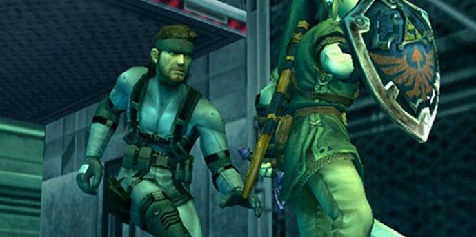 Snake foi usado no game a pedido de Hideo Kojima (Foto: Divulgação/Nintendo)