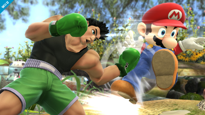 Little Mac mostrando quem manda (Foto: Divulgação/Nintendo)