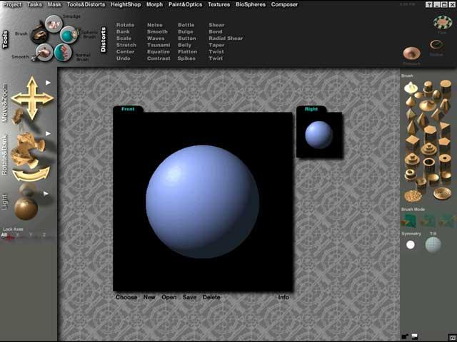 Amorphium torna-se bem intuitivo principalmente para usuários de programas como o Photoshop (Foto: Divulgação)