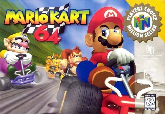 Capa do Mario Kart 64 (Foto: Divulgação/Nintendo)