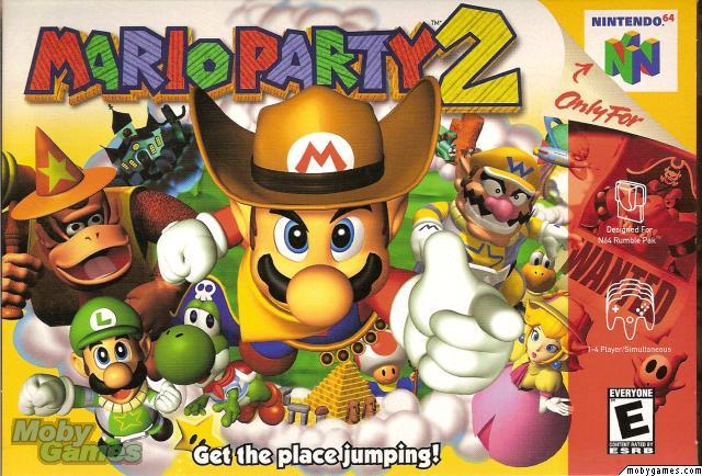 Capa do Mario Party 2 (Foto: Divulgação/Nintendo)