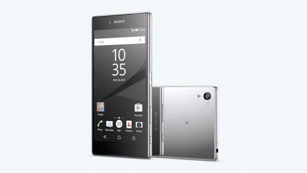 Xperia Z5 Premium é feito de metal e vidro reflexivo, dando um bom acabamento ao telefone (Foto: Reprodução/Elson de Souza)