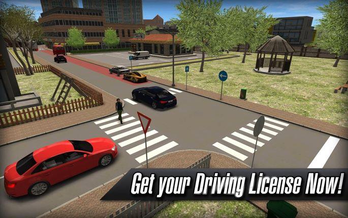 Driving School 2016 é um jogo indispensável para quem está tirando sua licença para dirigir (Foto: Divulgação / Ovidiu Pop)