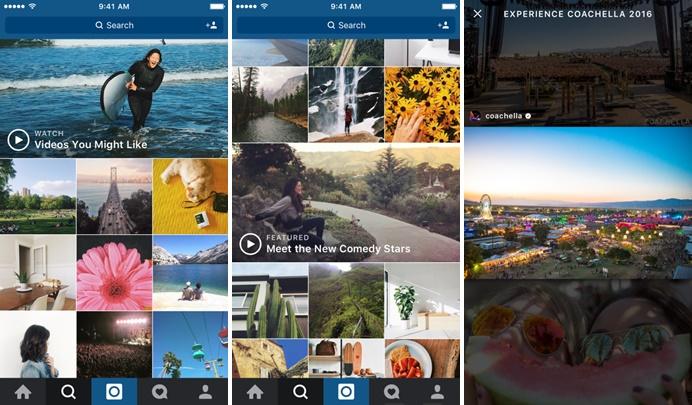 Instagram insere uma nova aba para vídeos (Foto: Divulgação/Instagram)