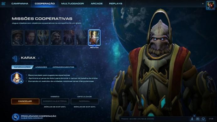 As Missões Cooperativas permitem que o jogador comande exércitos com personagens do jogo (Foto: Reprodução/Daniel Ribeiro)