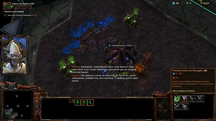 O jogador deve ter uma eficiente coleta de recursos para formar exércitos mais bem preparados (Foto: Reprodução/Daniel Ribeiro)